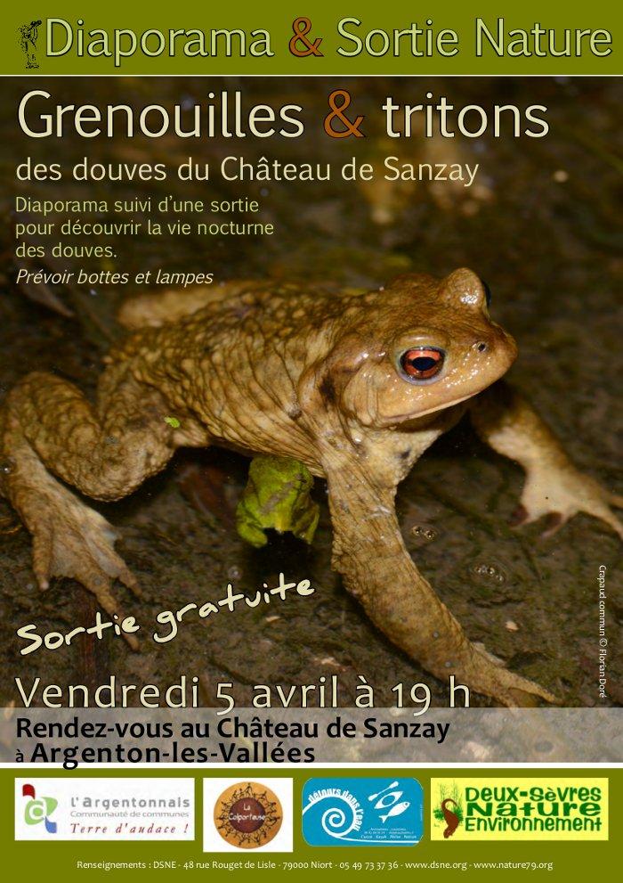DSNESortie Nuit de la grenouille à Fors-22-03-2013