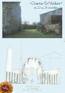 l'entrée du jardin de Radulphe
