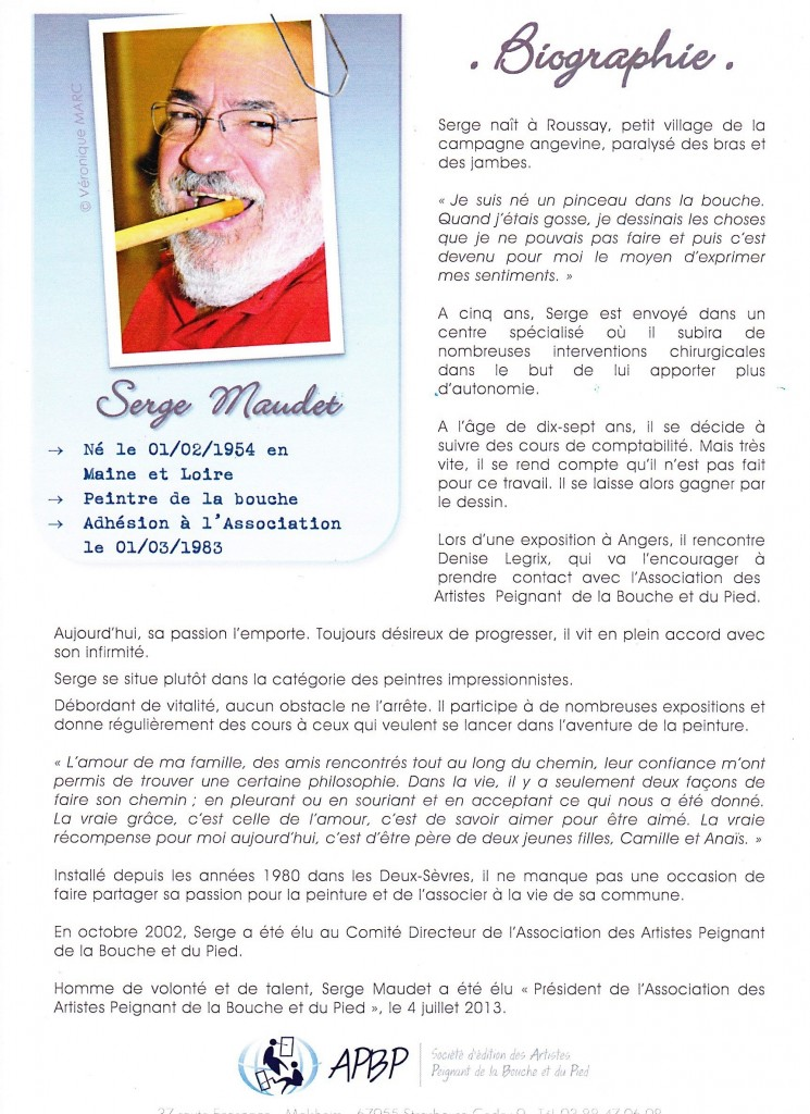 Biographie Serge
