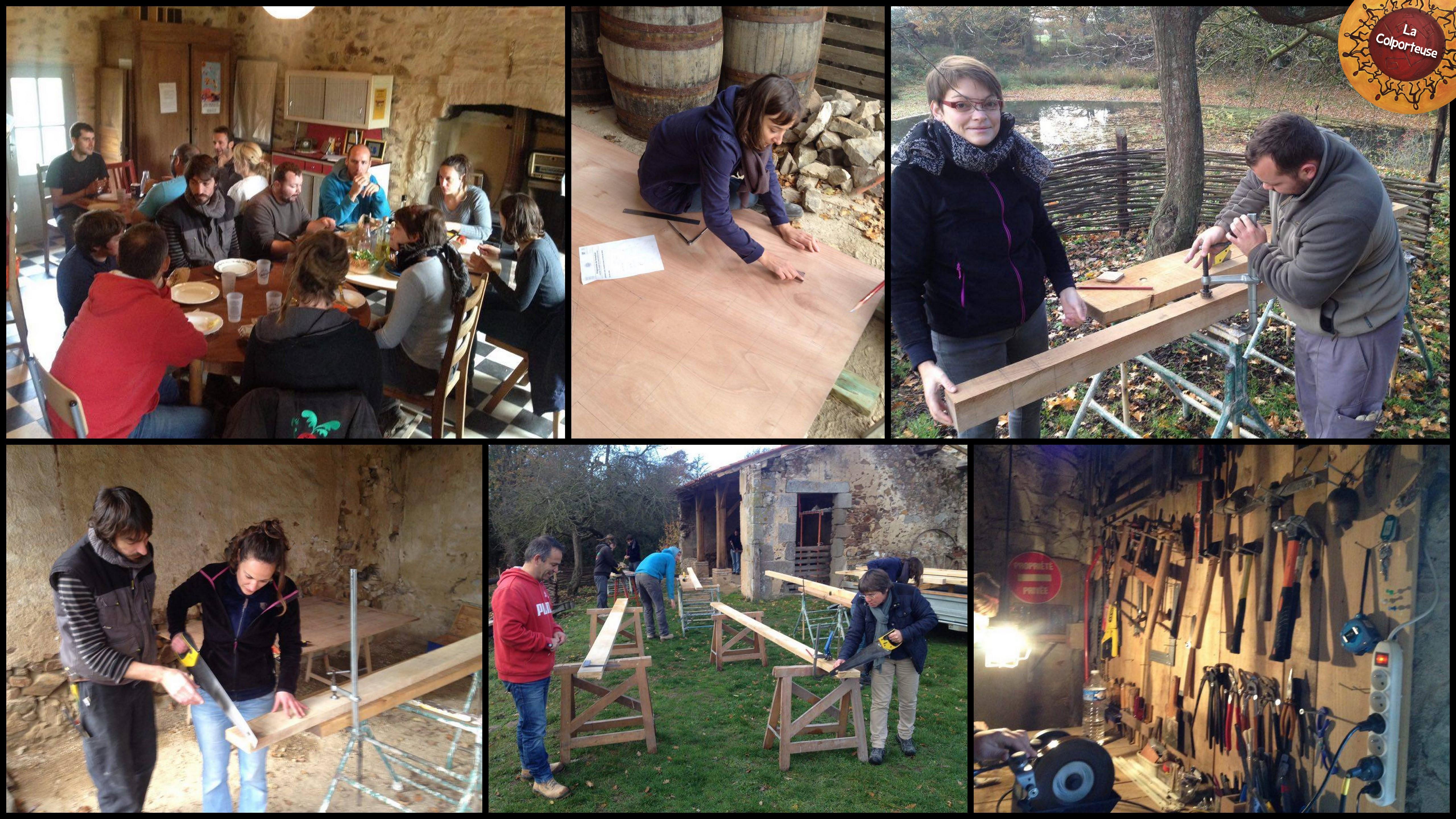 Formation Animer un atelier de construction en bois u2013 pour Adultes La colporteuse # Formation Construction Bois