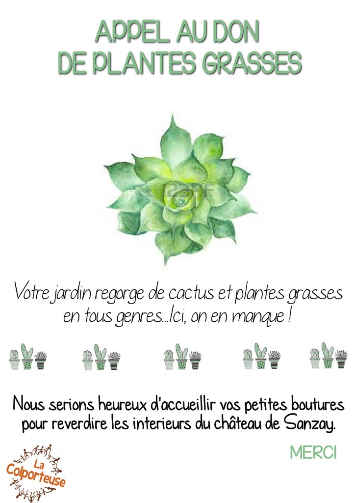 Don de plantes grasses